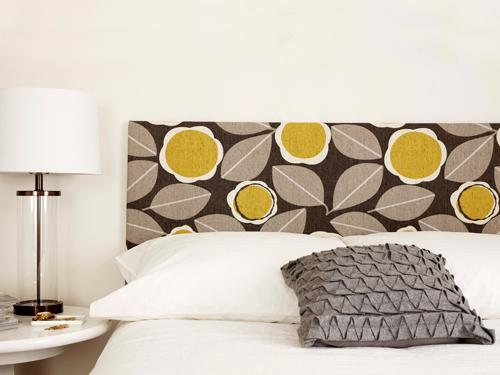 For under $75...Create a custom headboard.