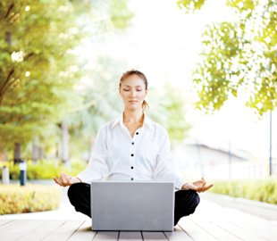 Try virtual yoga: Find zen with online classes and podcasts
