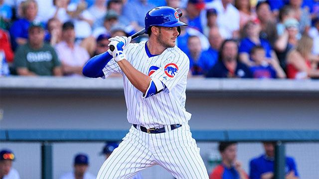 Strat-O-Matic Games makes crazy card using Kris Bryant's spring stats