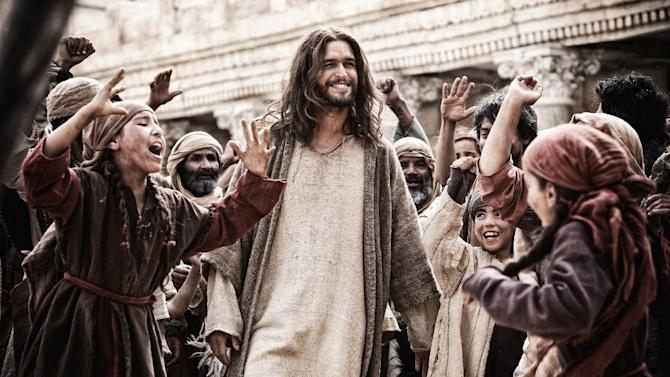 "This image released by 20th Century Fox shows Diogo Morgado in a scene from ""Son of God."" (AP Photo/20th Century Fox, Casey Crafford)"
