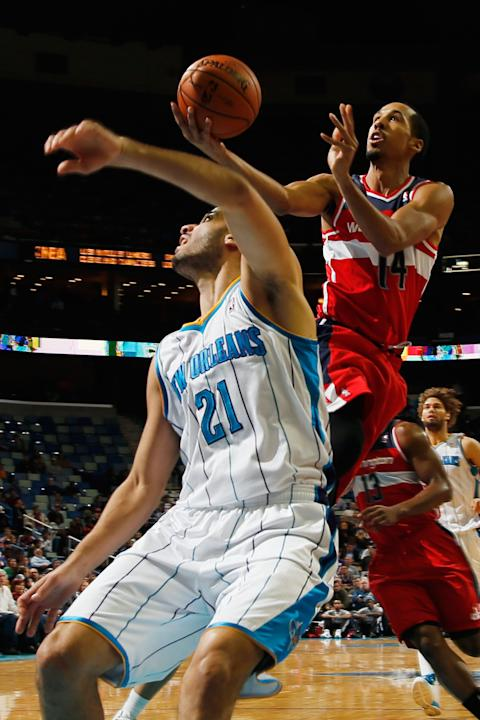 Washington Wizards v New Orleans Hornets