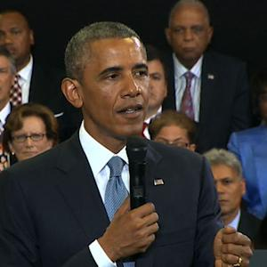 "Obama says notions of ""acting white"" or ""authentic way of being black"" has to go"