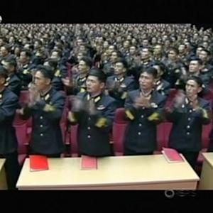 North Korean leader attends meetings with military officers