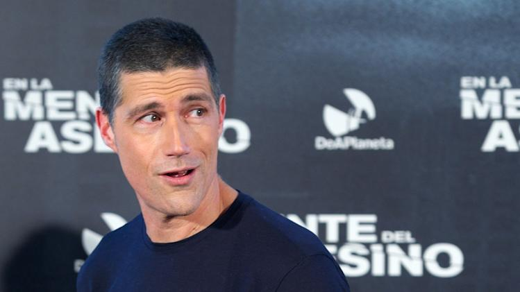Matthew Fox Attends 'Alex Cross' (En La Mente Del Asesino) Madrid Photocall