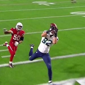 Seattle Seahawks tight end Luke Willson second TD reception