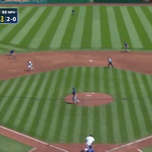 Flores' nice play