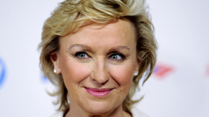 FILE - In this Thursday, March 8, 2012, file photo, Tina Brown attends the Women in the World Summit 2012 in New York. Brown, the editor who oversaw the ill-fated merger of Newsweek and The Daily Beast website, announced Wednesday, Spet. 11, 2013, she is parting ways with the company. (AP Photo/Evan Agostini, File)