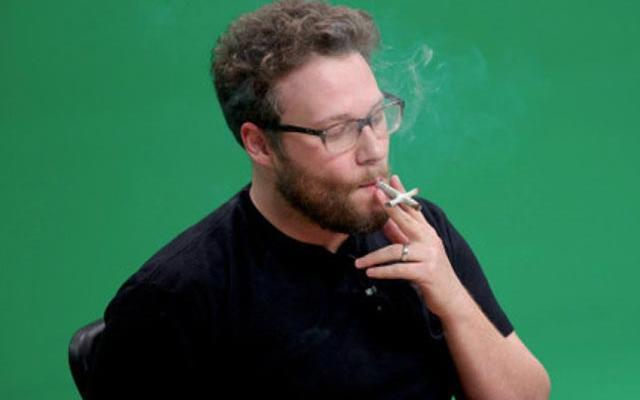 Seth Rogen Comes Out Smoking Over THR Charges Of Pot-Reeking Office