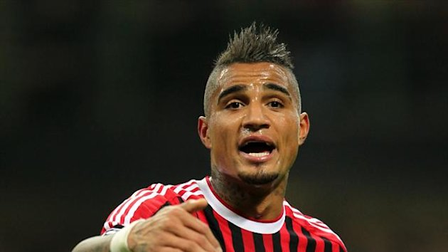 Kevin-Prince Boateng was the subject of racist abuse