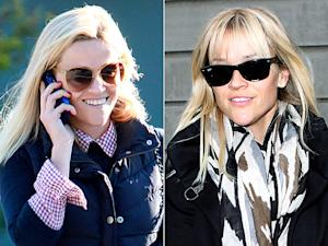 Reese Witherspoon Debuts New Bangs