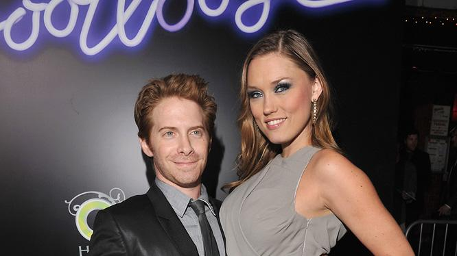Footloose LA Premiere 2011 Seth Green Clare Grant