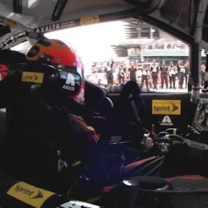 In-car: Gordon gets restart of a lifetime