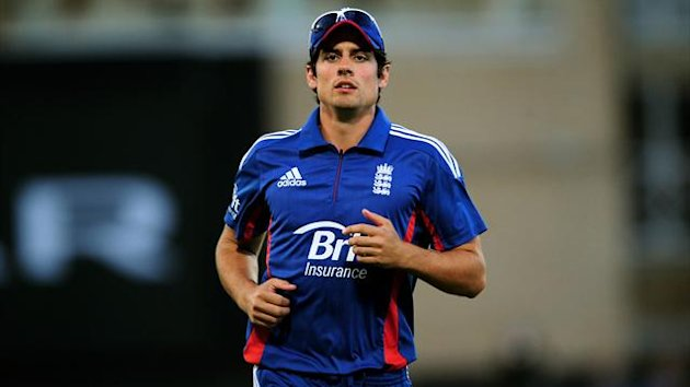 Alastair Cook, pictured, admits England need to find a formula to dismiss the dangerous Mahendra Singh Dhoni