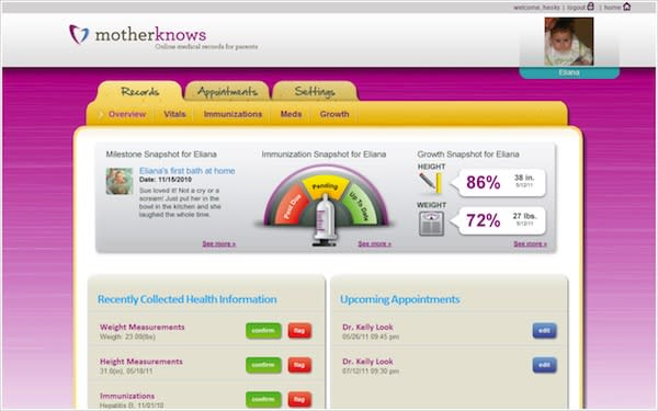 MotherKnows Creates iPhone-Accessible Health Records For Your Children