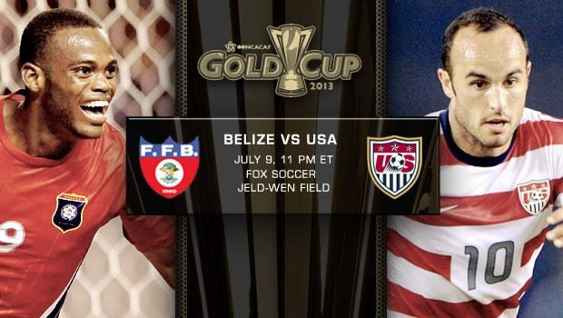 USA vs. Belize | Gold Cup Match Preview