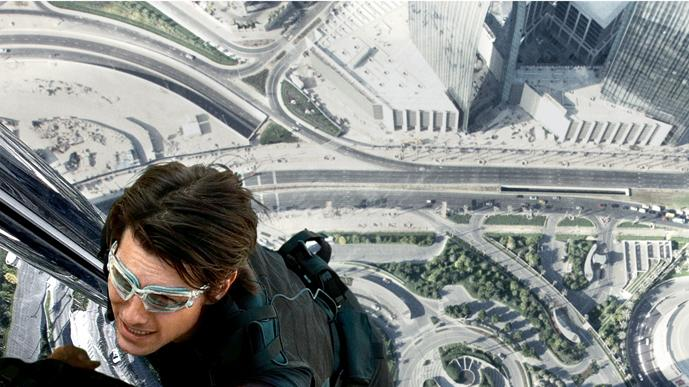 Mission Impossible Ghost Protocol 2011 poster