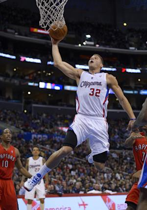 Griffin's 36 lead Clippers past Raptors 118-105