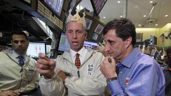 Burger King shares rise on first day back to NYSE