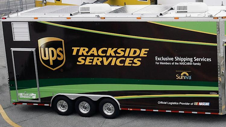 NASCAR gives UPS the green flag in 2013