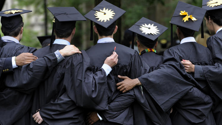 Job market for college grads better but still weak