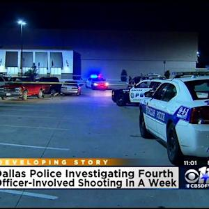 4th Dallas Officer-Involved Shooting In 1 Week