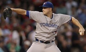 Laffey stifles Red Sox in Toronto's 6-1 win