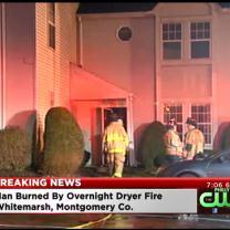 Man Injured In Montgomery County Fire