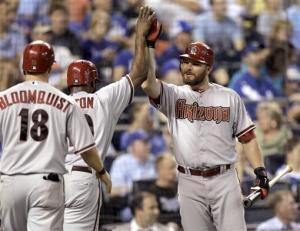 Montero drives in 3 as D'backs beat Royals 6-4