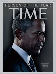 "This image courtesy of TIME magazine shows the Person of the Year cover for December 31, 2012/January 7, 2013 US President Barack Obama was named ""Person of the Year 2012 by Time Magazine on December 19, 2012. President Obama re-elected in November to a second term of four-year term, embodies both a symbol and a driving force behind the profound transformations that shook the United States, said the prestigious magazine. ""In 2012, he created and built a new majority and turned weaknesses into opportunities and sought, in the midst of great adversity, to unite the country,"" says Time on its website. This is Obama's second time on the cover with the iconic title. He also graced the cover the last time he won election, in 2008, just after he became the first African American elected president. = RESTRICTED TO EDITORIAL USE - MANDATORY CREDIT "" AFP PHOTO / TIME/"" - NO MARKETING NO ADVERTISING CAMPAIGNS - DISTRIBUTED AS A SERVICE TO CLIENTS = (AFP/Time 