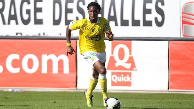 FOOTBALL 2012 Nantes Serge GAKPE