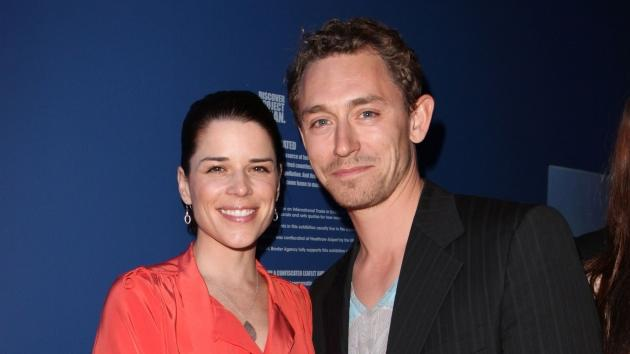 Neve Campbell and JJ Field attend the launch of Project Ocean at Selfridges in London on May 11, 2011 -- Getty Images