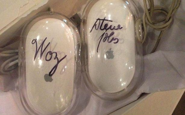 Kanye's Quest to Become Steve Jobs Now Has a Steve Jobs-Signed Mouse