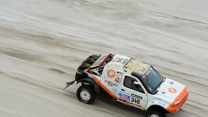 2013 Dakar Rally - Day Eleven