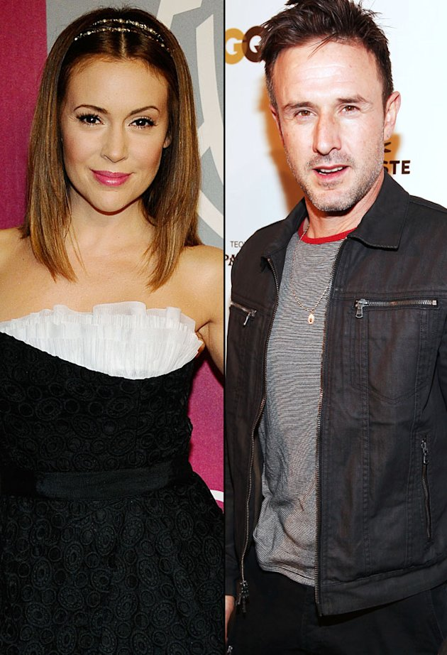 Alyssa Milano, David Arqu …