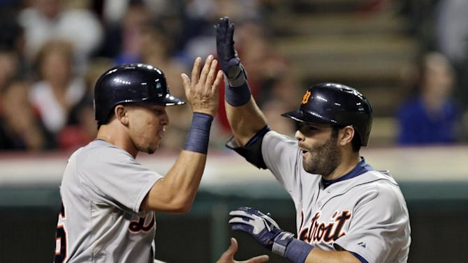 Tigers rally to stun Indians 4-2