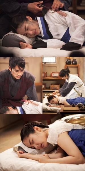 Song Seung Hun Treats a Wounded Park Min Young in 'Time Slip Dr. Jin' Preview