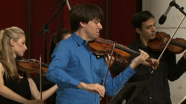 Violinist Joshua Bell returns to Union Station where he was first ignored