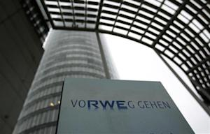 The headquarters of German power supplier RWE are pictured in the German town of Essen