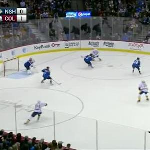 Semyon Varlamov Save on Taylor Beck (10:45/2nd)