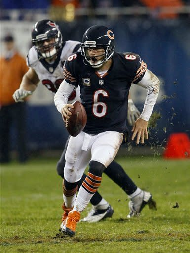 Texans knock out Cutler, beat Bears 13-6
