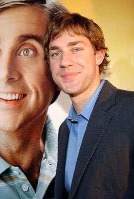 Premiere: John Krasinski at the Hollywood premiere of Universal Pictures' The 40-Year-Old Virgin - 8/11/2005