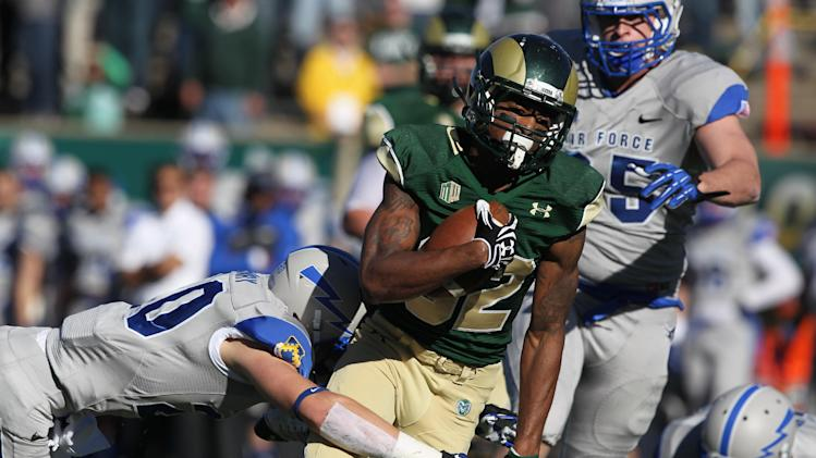 CSU bowl eligible with 58-13 rout of Air Force