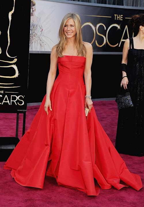 85th Annual Academy Awards - Arrivals: Jennifer Aniston