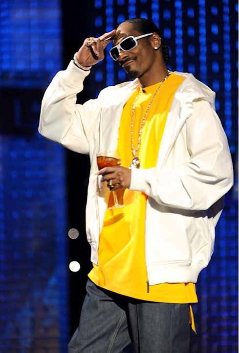 Snoop Dogg at the Comedy Central Roast Of Donald Trump.