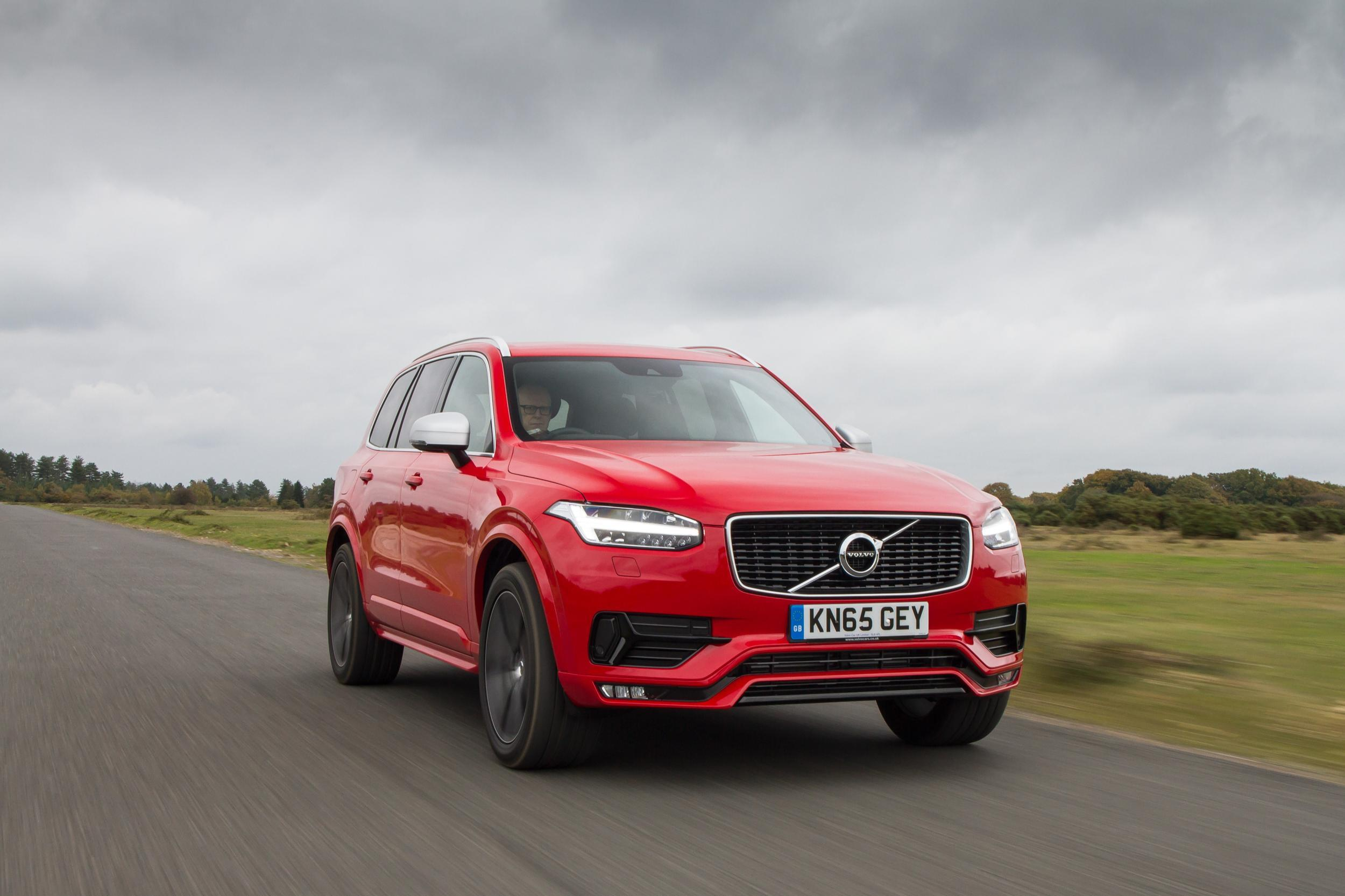 The XC90 gets a bad-boy makeover