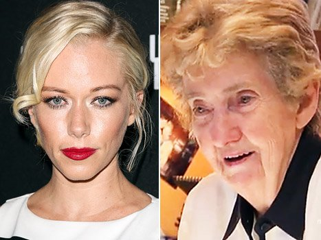 Kendra Wilkinson Mourns Mary …