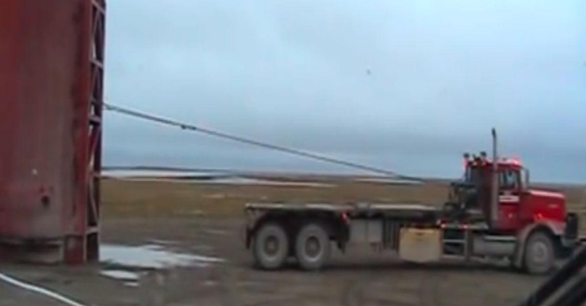 Loading a Tank With a Winch (Will it End Well?)