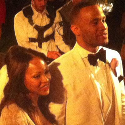 5. Meagan Good and DeVon Franklin