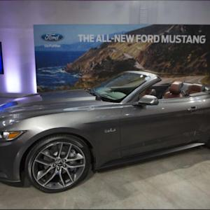 2015 Ford Mustang Named 'Official Car' Of CES