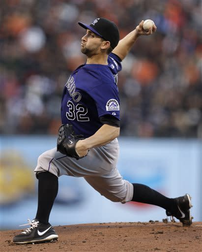 Rockies beat Giants for fourth straight time
